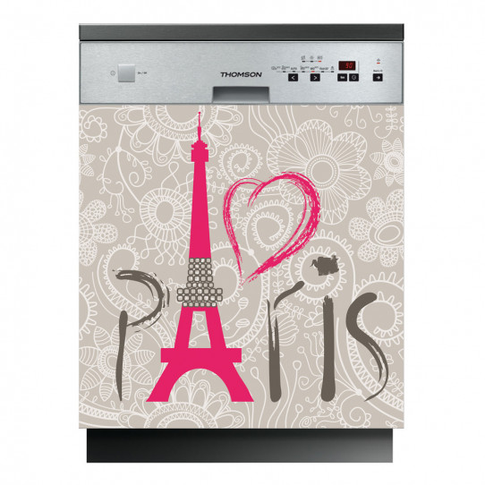 Stickers lave vaisselle Paris