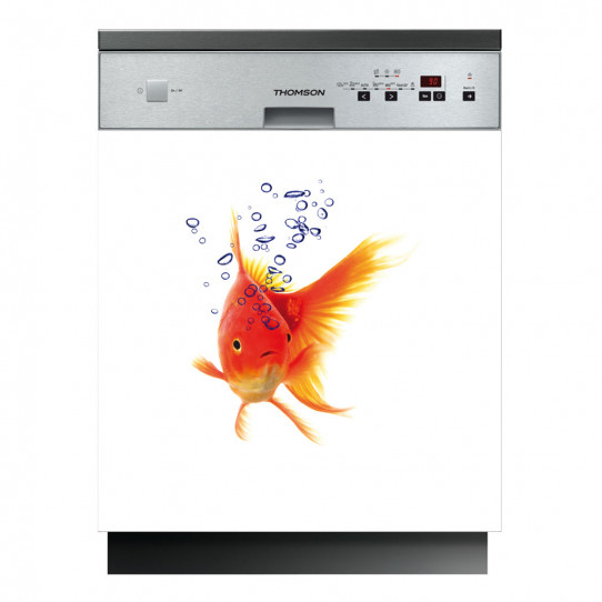 Stickers lave vaisselle poisson