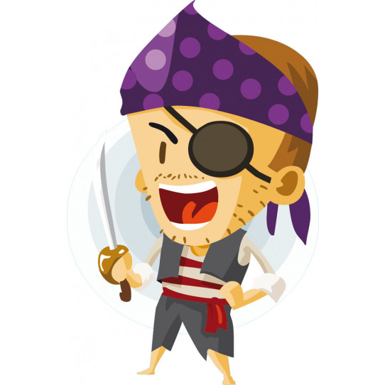 Stickers pirate