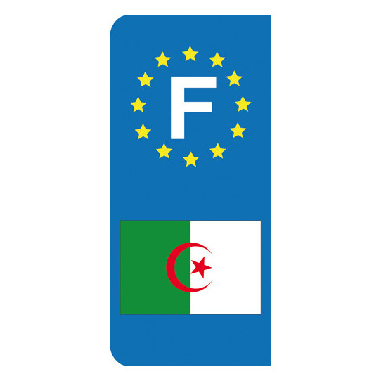 Stickers Plaque Algerie