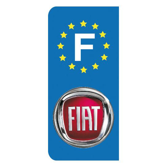 Stickers Plaque Fiat