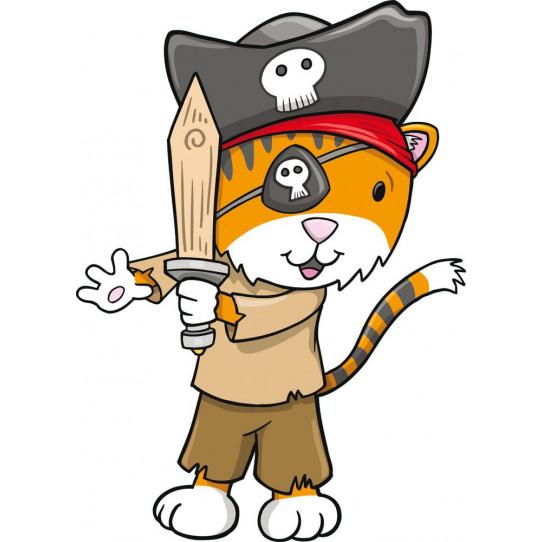 Stickers renard pirate