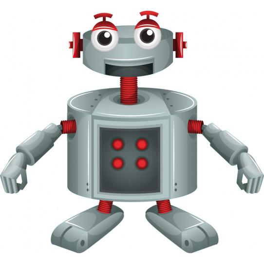 Stickers robot sourire