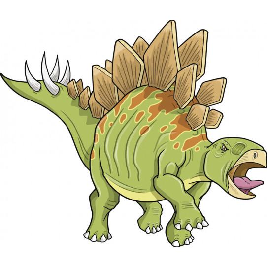 Stickers stégosaure