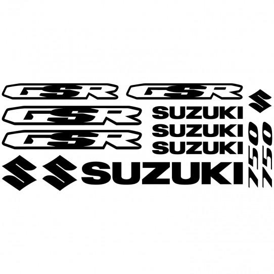 Stickers Suzuki Gsr 750