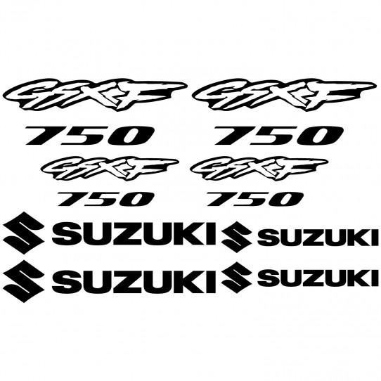 Stickers Suzuki GsxF 750