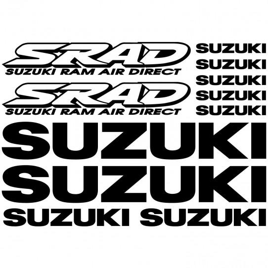 Stickers Suzuki SRAD