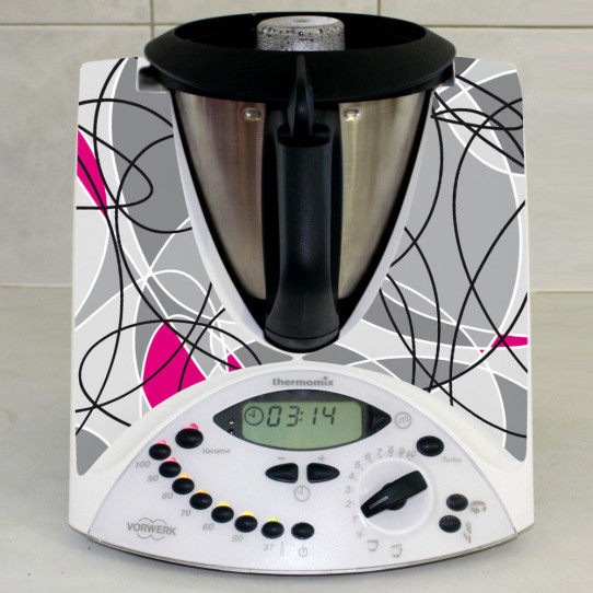 Stickers Thermomix TM 31 Abstrait 7