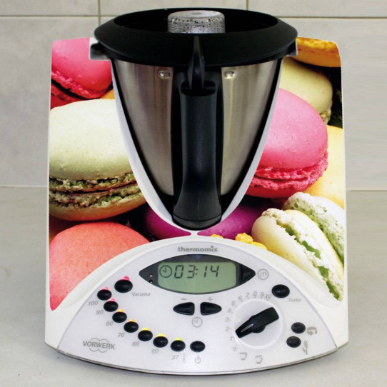Stickers Thermomix TM 31 Macarons