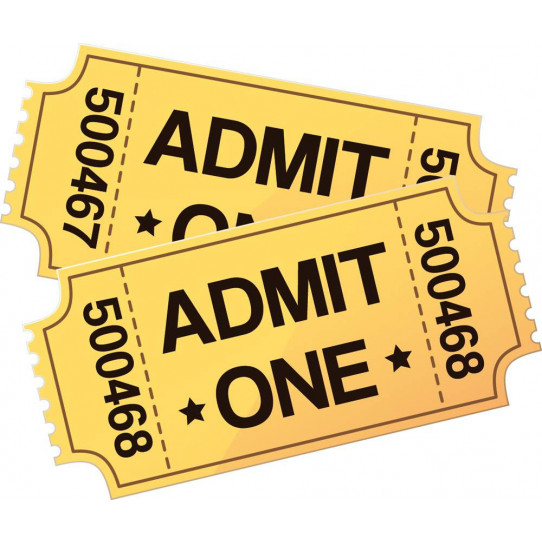Stickers tickets cinéma