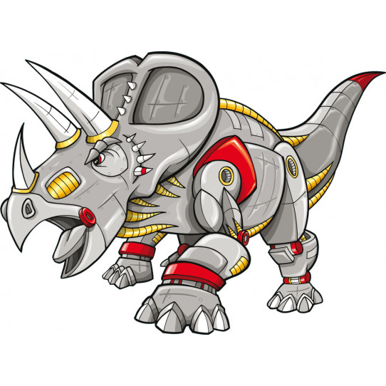 Stickers tricératops