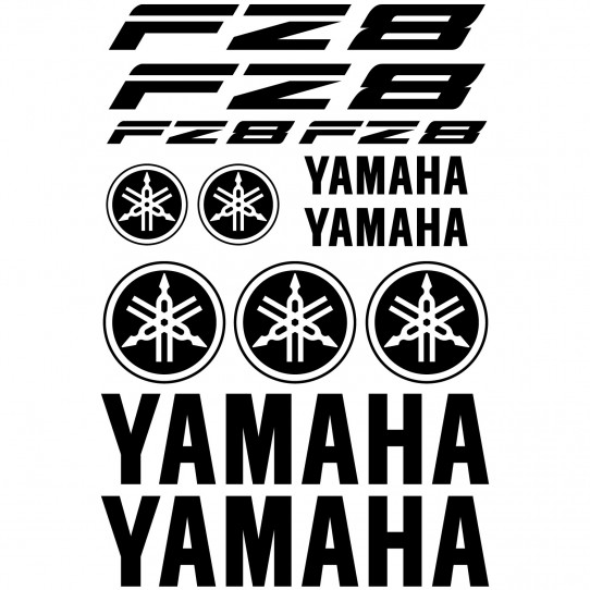Stickers Yamaha FZ8