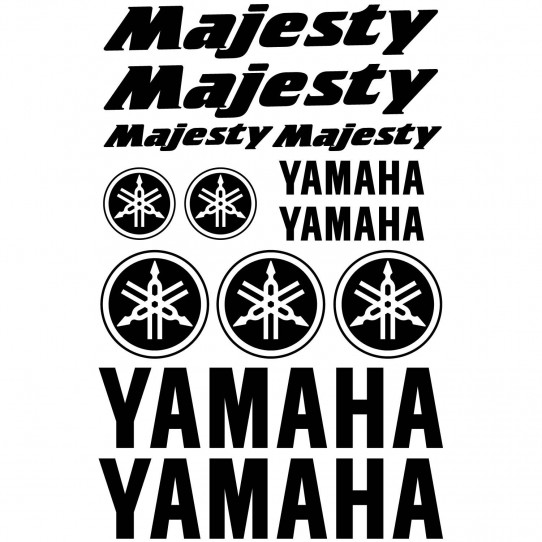Stickers Yamaha Majesty