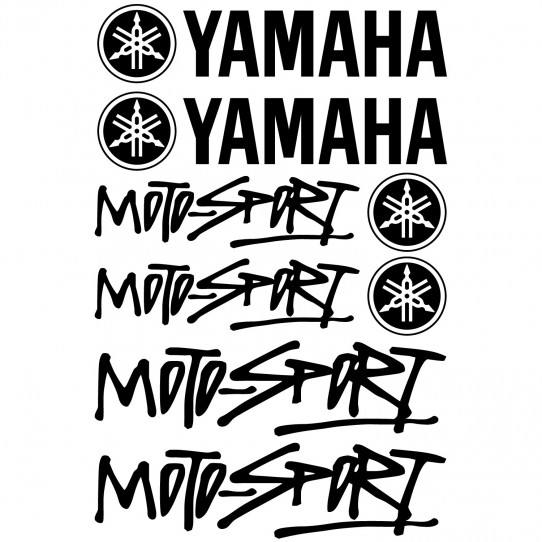 Stickers Yamaha Moto-sport