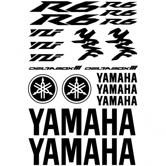 Stickers Yamaha R6