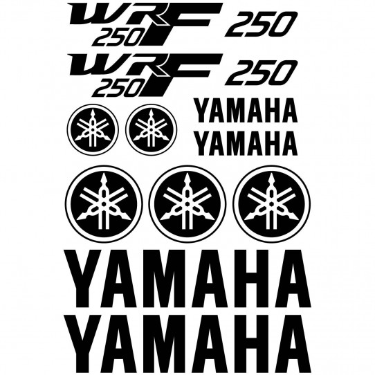 Stickers Yamaha Wrf 250