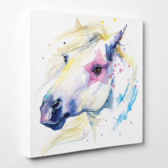 Tableau toile - Cheval 7
